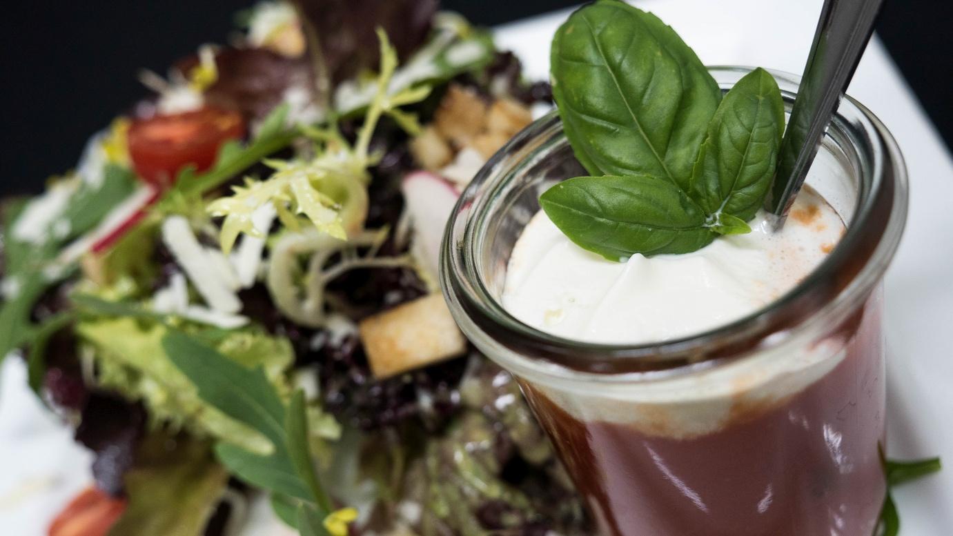 - Salat Und Suppe Im Weckglas